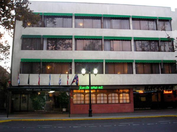 Hotel Conde Ansurez, Santiago