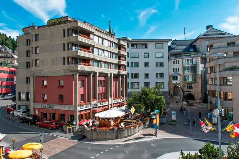 Hauser Hotel St. Moritz, Maloja
