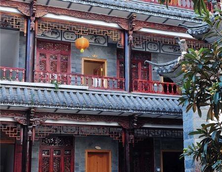 Dali Inn between Erhai and Cangshan, Dali Bai