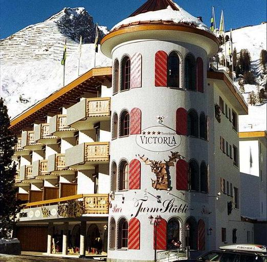 Turmhotel Victoria, Prättigau/Davos