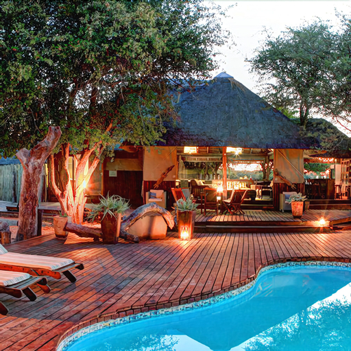 Haina Kalahari Lodge, Ngamiland East