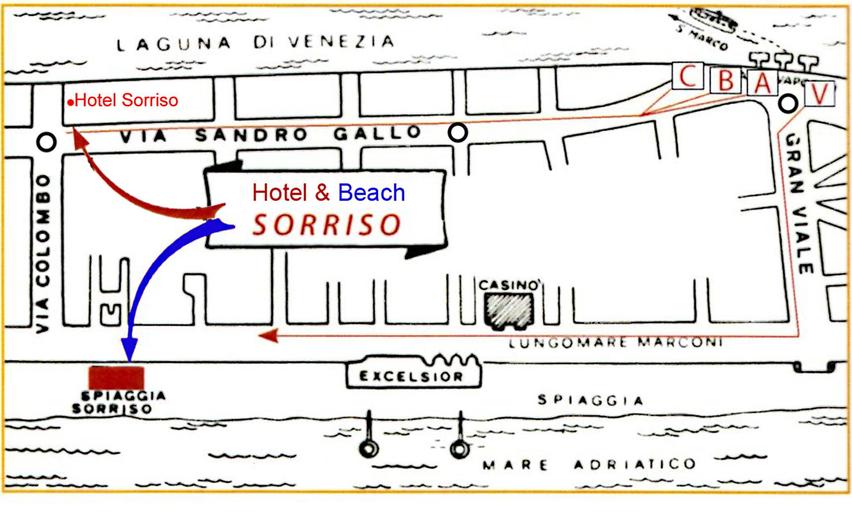 Hotel Sorriso, Venezia