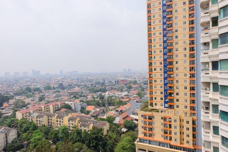 Homey 1BR at Puri Kemayoran Apartment By Travelio, Jakarta Pusat