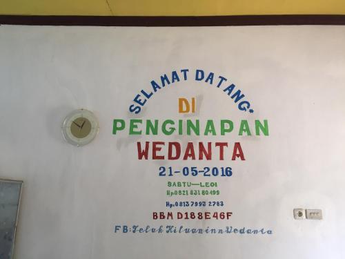 Penginapan Wedanta, Tanggamus