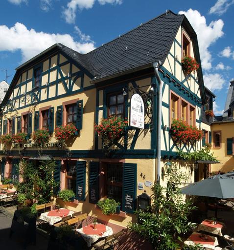 Historisches Hotel Weinrestaurant Zum Grünen Kranz, Rheingau-Taunus-Kreis