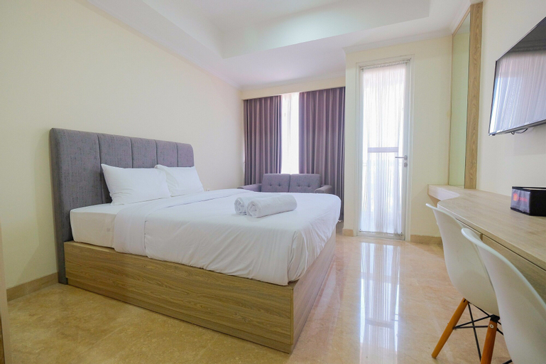 Comfy Studio City View at Menteng Park By Travelio, Central Jakarta