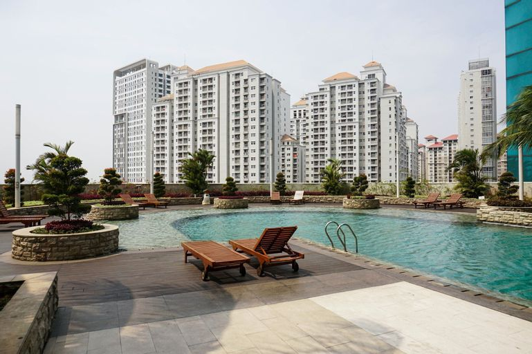 Modern 1BR Apartment at Central Park Residence By Travelio, West Jakarta