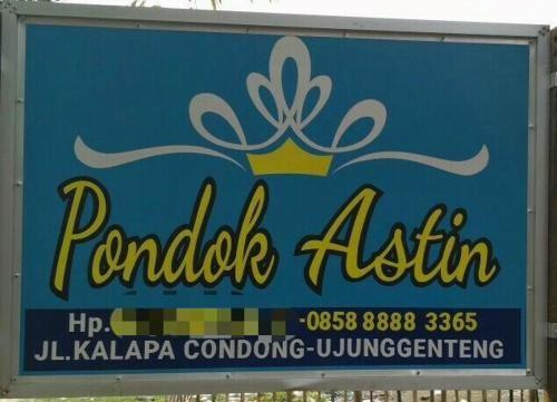 Pondok Astin, Sukabumi