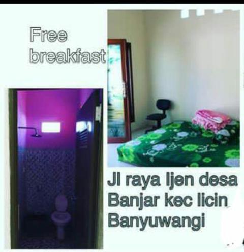 Farida guest house, Banyuwangi