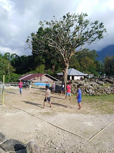 Ndetukou village, Ende