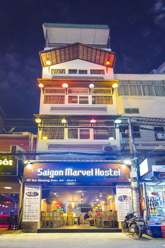 Saigon Marvel Hostel, Quận 1