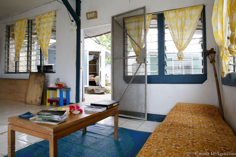 Vatia Beach Eco Lodge, Ba