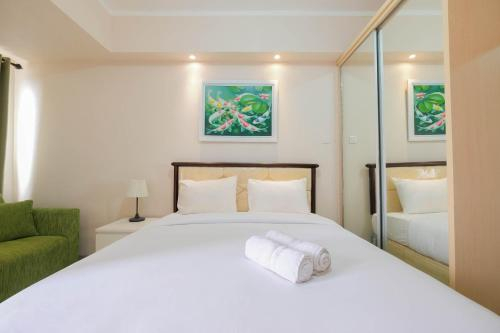 Minimalist and Comfy Studio The Oasis Cikarang Apartment, Cikarang