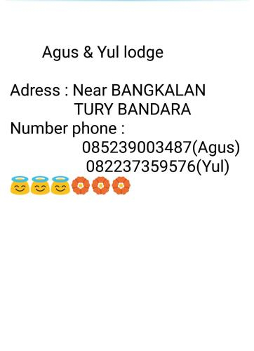Agus & Yul Lodge, Manggarai Barat