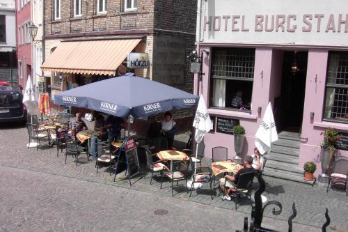 Hotel-Cafe-Burg Stahleck, Mainz-Bingen