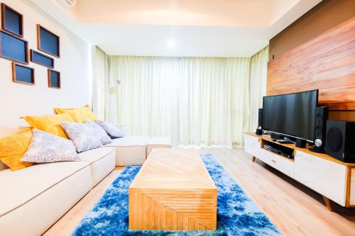 Luxurious 2BR St. Moritz Puri Apartment with Private Lift, West Jakarta