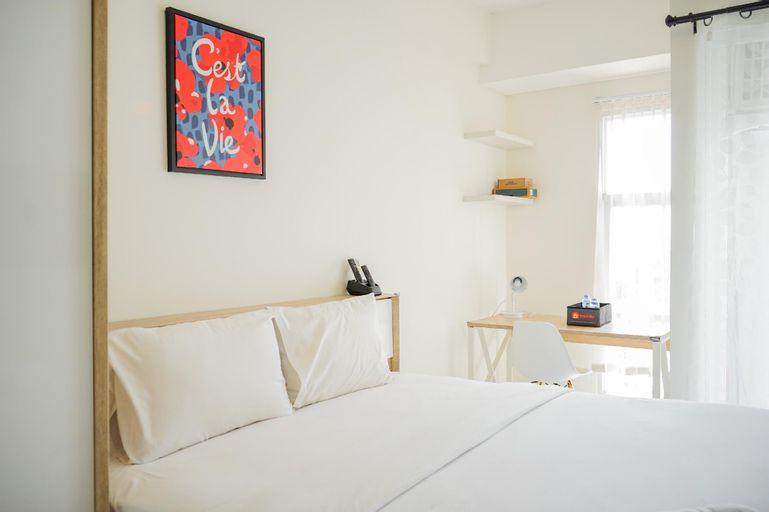 Cozy Studio Apartment at Akasa Pure Living BSD By Travelio, Tangerang Selatan
