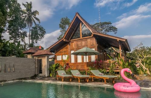 Benisari Batik Garden Cottage, Gianyar