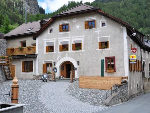 Hotel Restaurant Crusch Alba, Inn