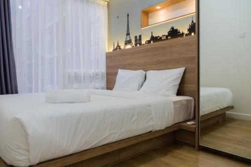 Elegant 1BR at Landmark Residence near 23Paskal By Travelio, Bandung