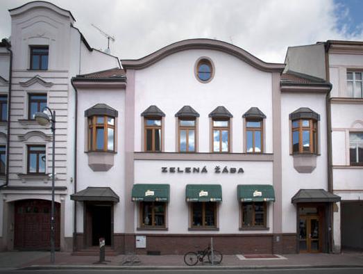 Penzion Zelena Zaba, Pardubice