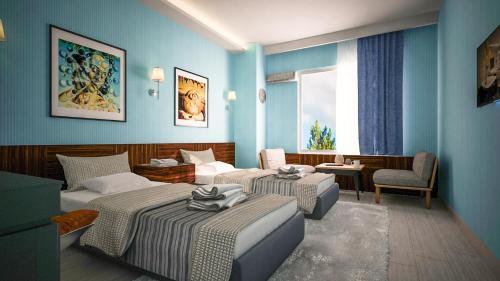 Balta Hotel, Merkez