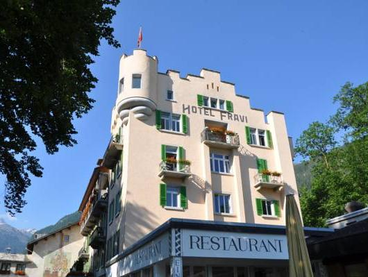 Hotel Fravi, Hinterrhein