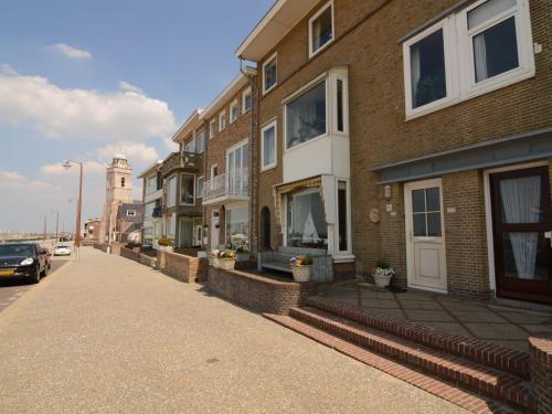 Authentic jutters house on the boulevard of Katwijk with sea view, Katwijk