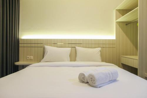 New Studio with Sea View at Gold Coast Apartment By Travelio, North Jakarta