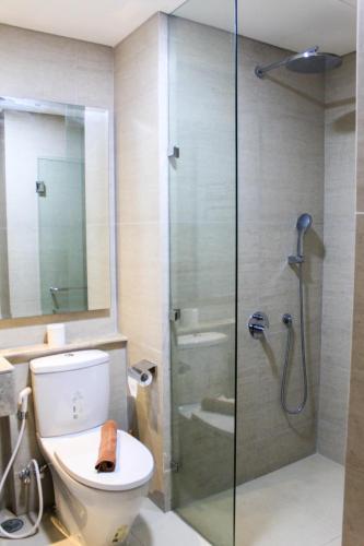 Best View 1BR Apartment at Gold Coast PIK By Travelio, North Jakarta