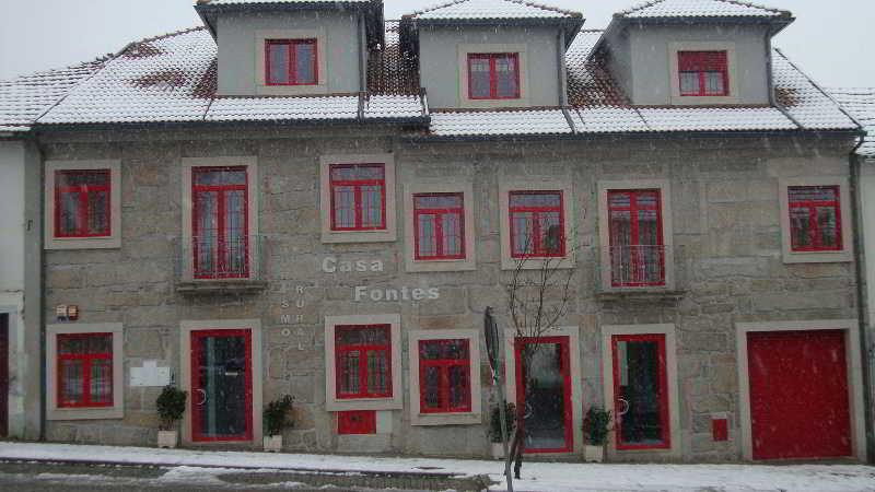 Casa Fontes, Vila Pouca de Aguiar