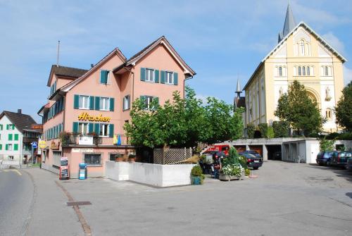 Hotel Hirschen, March