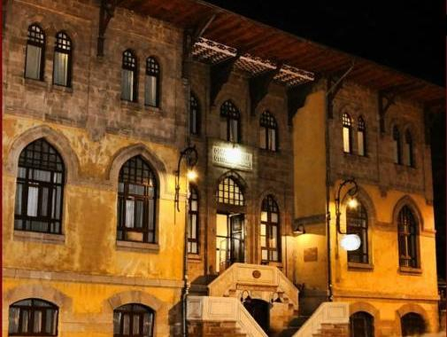 Osmanli Saray Oteli, Merkez
