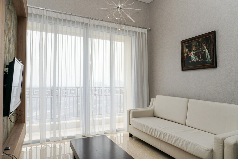 Fabulous 2BR Lucky Tower Apartment, West Jakarta
