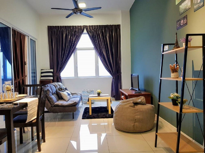 Puchong 1-5pax IOI Cozy Apartment Skypod, Kuala Lumpur