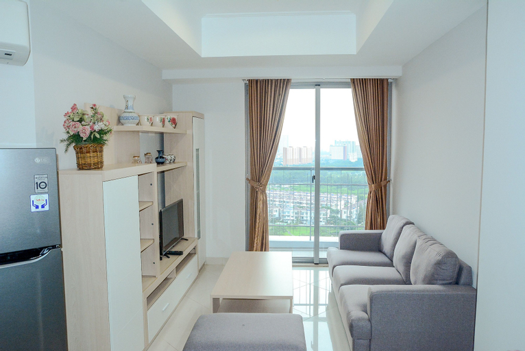Golf View at The Mansion Apartment near JIEXPO, North Jakarta