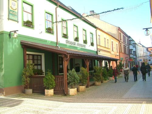 Hotel Trebovska restaurace, Svitavy