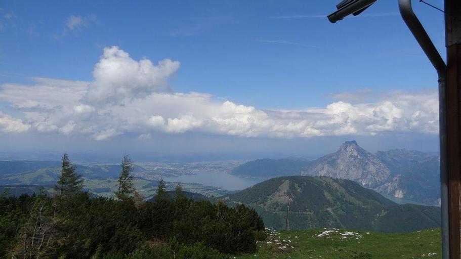 Alpen Berghütte Sonnstein Panorama, Gmunden