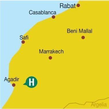 Hotel Blue Sea Le Tivoli, Agadir-Ida ou Tanane