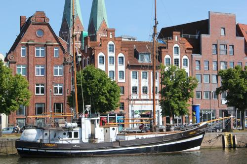 Apartment Traveblick, Lübeck