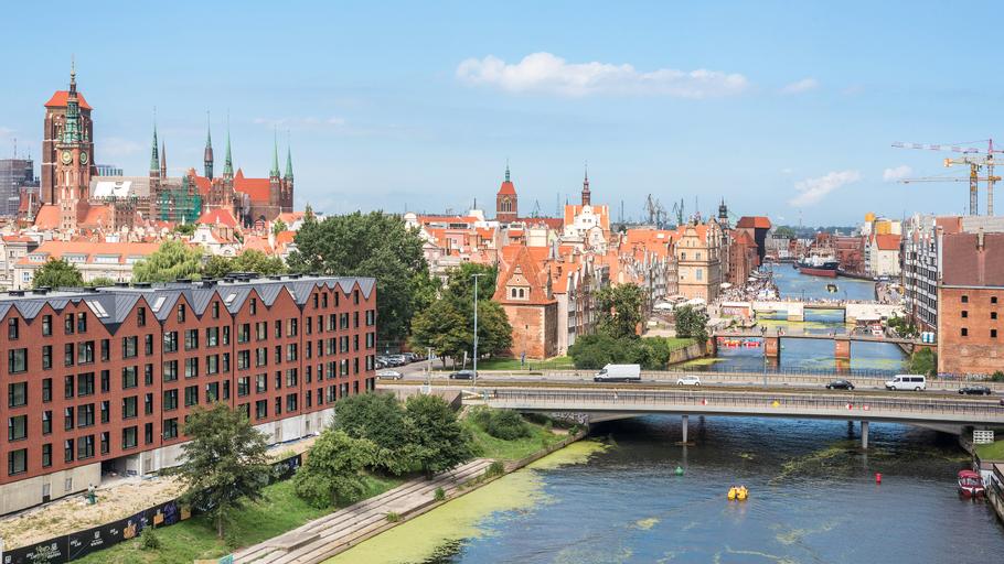 Dom & House - Waterlane Island, Gdańsk City