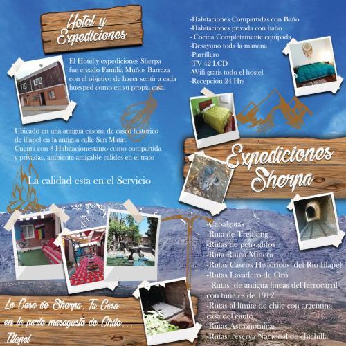Hostel y expediciones Sherpa, Choapa