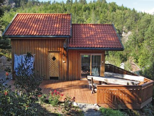 Three-Bedroom Holiday home Lindesnes with Sea View 03, Lindesnes