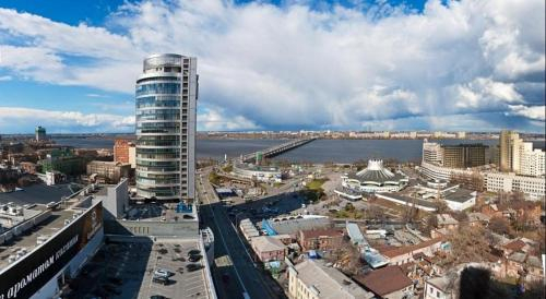 Most City Lux Panoramic River View, Dnipropetrovs'ka