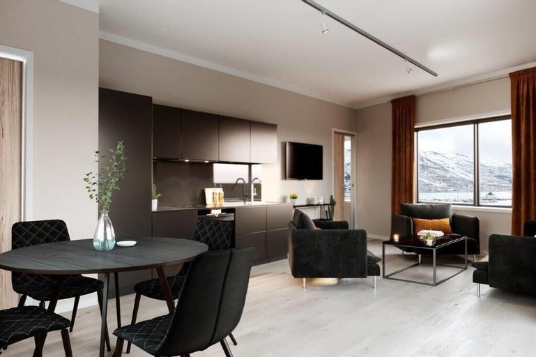 Luxury downtown apartments ap 404, Tromsø