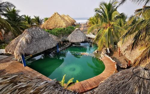 Eco-Hotel Playa Quilombo, Moyuta