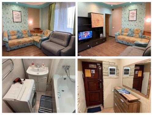 Apartments on Stroiteley 82, Novokuznetskiy