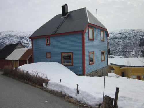 The blue house, Røldal, Odda