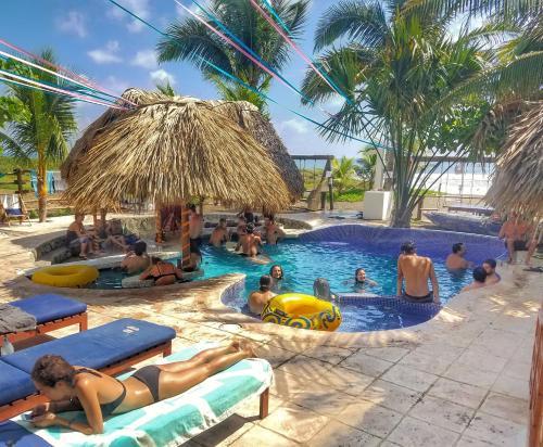 The Driftwood Surfer, Best Beach Hostel, Hotel, El Paredon, Guatemala, 2 NIGHTS MINIMUM, La Gomera