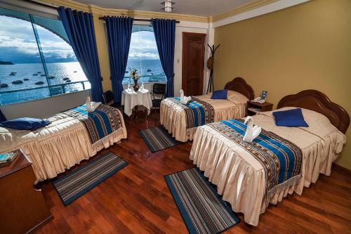 Hotel Lago Azul, Manco Kapac